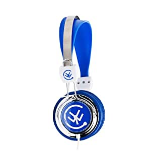 Urbanz ZIPCBL Zip Multi-device Stereo Headphone - Blue