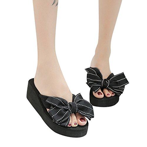 Infradito-Donna-Estive-2018-Styledresser-Eleganti-con-fiore-Sandali-Donna-con-Zeppa-estive-Elegant-Pantofole-Donna-estive-Elegant-Ciabatte-Donna-estive-da-casa-Mare-Scarpe-Donna-estive