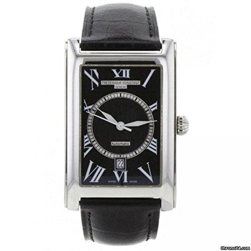 reloj-frederique-constant-classics-carree-f303007-automatico-acero-quandrante-negro-correa-piel