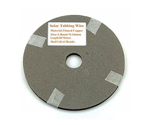 Vikocell 60 mètres Tabbing fil PV ruban pour DIY cellules solaires Panneau solaire cellule solaire PV ruban