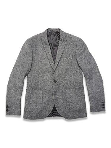 Gabba Herren Sakko Blazer Jacket grau Farbe grau, Größe 54 (Holloway Blazer)