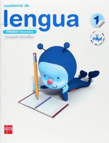 Conecta con Pupi, lengua, 1 Educación Primaria. 1 trimestre. Cuaderno (cuadrícula)