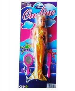 Preisvergleich Produktbild 1Liebespuppe Sirene + Kamm + Spiegel Miss Thea 29x 6cm Hundespielzeug