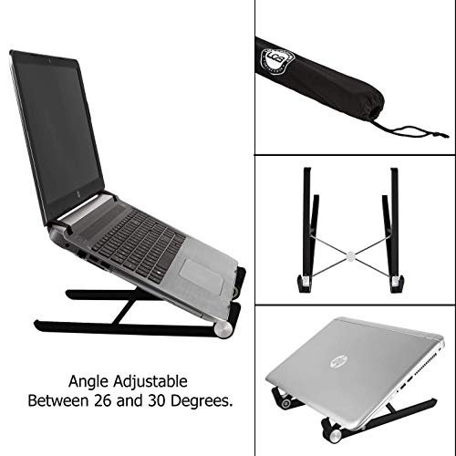 Soporte para laptop - soportes ligeros bien ventilados portátiles y desplegables con...
