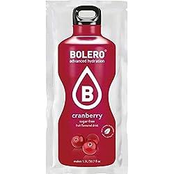 Paquete de 24 sobres bebida Bolero sabor Arándano