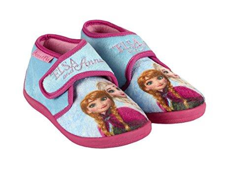 Frozen - Zapatillas de estar por casa de Material Sintético para niña azul azul celeste azul Size: 23