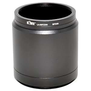 Maxsimafoto LA-55FZ200 adaptateur de filtre pour Panasonic Lumix DMC-FZ200 / Leica V-LUX 4 (équivalent à Panasonic DMW-LA7)