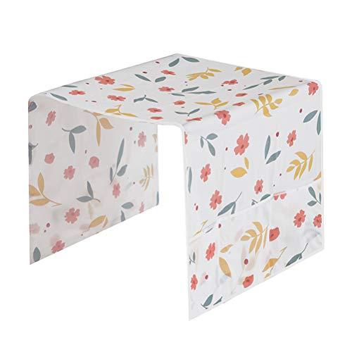 BESTONZON Kühlschrank Abdeckung Hängen Waschmaschine Top Abdeckung mit Speicherorganisator Tasche Für Home Küche (Zufällige Muster) - Für Kühlschränke Magnetische Abdeckungen