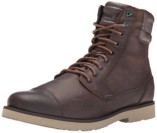Teva Herren Mason Tall M's Kurzschaft Stiefel, Braun (556 Brown), 45.5 EU