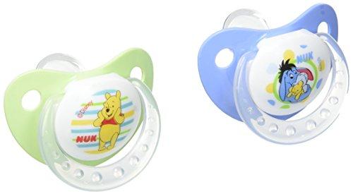 Nuk Disney Winnie l 'Ourson 2 Sucettes Taille 1 (0-6 mois)