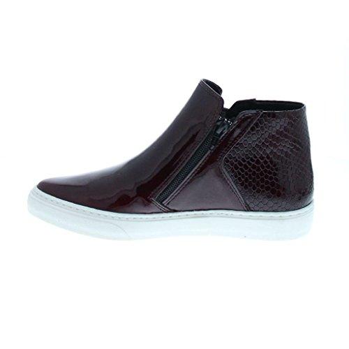Bronx BmecX Damen Hohe Sneakers patent bordeaux