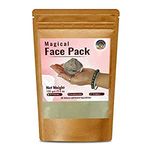 Brown & White Magical Face Pack (For All Type of Face) - 100 gm