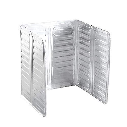 Romote Öl Prallplatte verdickte Aluminiumfolie Küche Öl Splash Proof Faltplatte Herd Öl-Spritzer-Bildschirm-Küche-Werkzeug Küchenhelfer (öl-bereinigung)