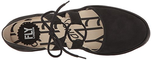 FLY London POMA - Escarpins - Femme Noir / Noir (Black/Black)