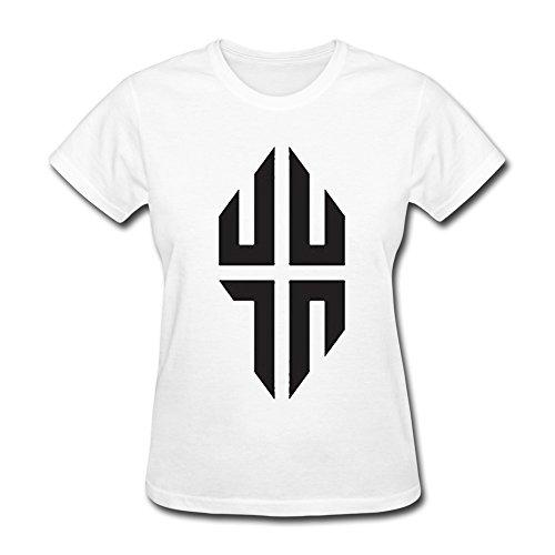 Nana-Custom Tees Damen T-Shirt Gr. xxl, Schwarz - Weiß