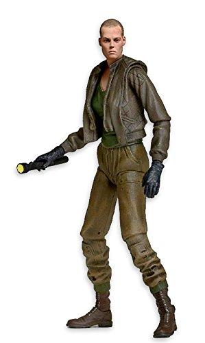 Aliens Serie 8móviles Figura de acción Ellen Ripley (H: 18cm) 1