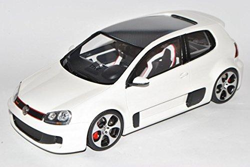 Preisvergleich Produktbild VW Volkswagen Golf V GTI W12 Wörthersee 650 Weiss Nr 109 1/18 Otto Modell Auto mit individiuellem Wunschkennzeichen