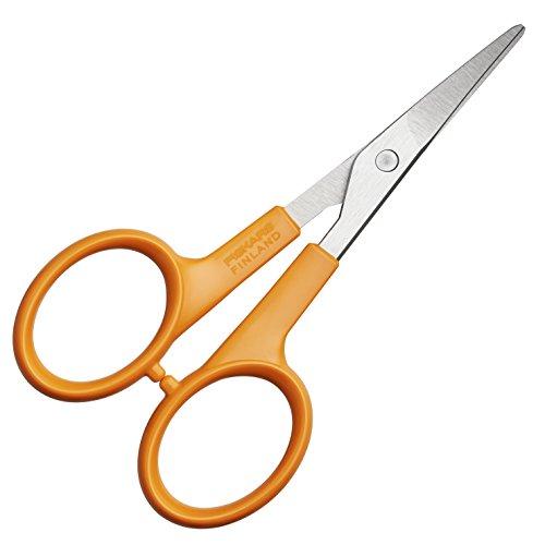 fiskars-859808-tijeras-curvas-para-manicura-punta-afilada-diestros-y-zurdos-10-cm
