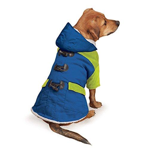 East Side Collection erhöhte Brights Jacke für Hunde, 30,5cm, klein, blau -