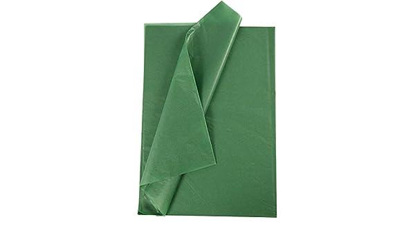 14 g 10Bl. Grün Seidenpapier Blatt 50x70 cm