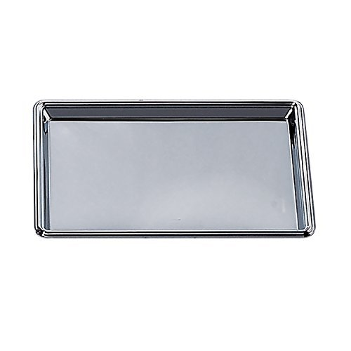 12 X 8 Rectangular Nickel Plated Tray by Elegance Silver -