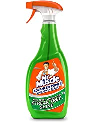 Mr Muscle Advanced Power Window and Glass Cleaner, 750 ml