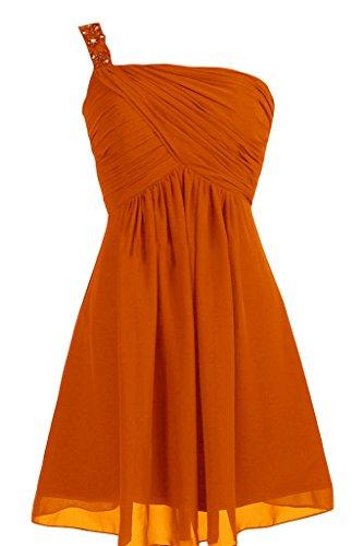 Missdressy - Robe - Trapèze - Femme Orange