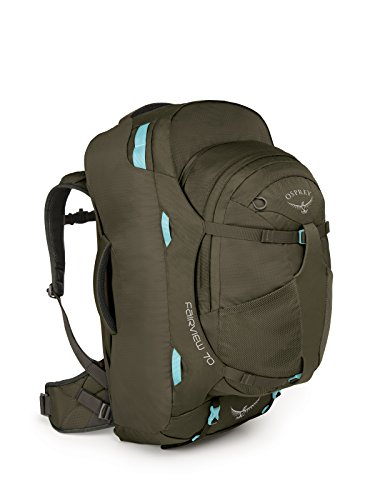 Osprey Damen Fairview 70 Travel Pack, Misty Grey, S/M