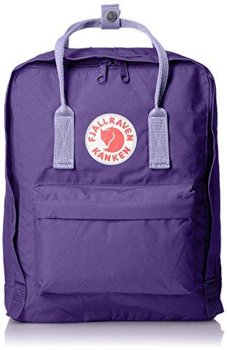 Imagen de fjällräven kånken vinylon violeta    para portátiles y netbooks vinylon, violeta, bolsillo frontal, cremallera, 270 mm, 130 mm