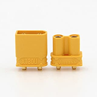 KINGDUO 10x Amass xt30Upb xt30 Upb 2Mm Male Female Bullet Connectors S For Pcb