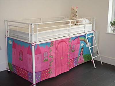 Midsleeper Tent for Cabin Bed, Mid sleeper Princess Fairytale Castle