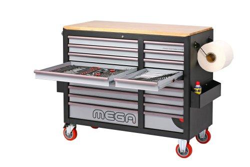 MEGA Sonic Equipment, Werkstattwagen, für 644 Werkzeuge, 7644 - 3