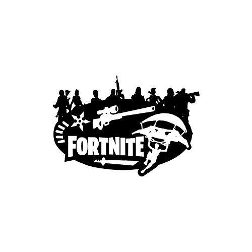 Preisvergleich Produktbild WQQUN1 44*30cm Fortnite Games 3D gebrochenes loch wandaufkleber für kinder / jungen mädchen schlafzimmer zimmer spiel aufkleber wandbild dekorationen graffiti decals tapete abnehmbar wandkunst sticker pvc
