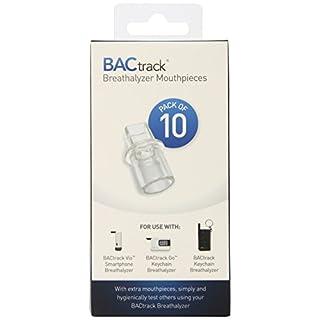 BACTRACK Schlüsselanhänger Alkoholtester Mundstücke (10Stück)