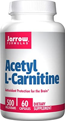 Jarrow Acetyl L Carnitine, 60 Capsules, 500 mg
