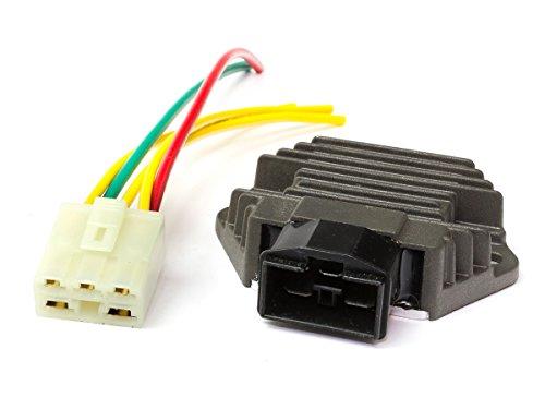 Regler Gleichrichter HN-001 mit Stecker und Kabel für Honda -