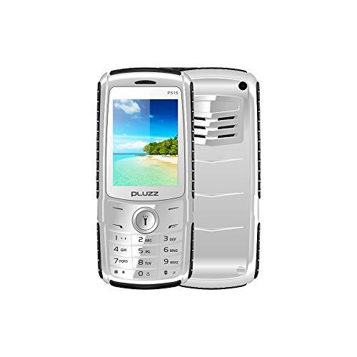 Altsommer Seniorenhandys,2,4 Zoll Bildschirm mit Dual-SIM,Großen Tasten,Bluetooth,FM Radio, Box-Lautsprecher,MP3, MP4,Super Starkes Blitzlicht Seniorenhandy (Silber)