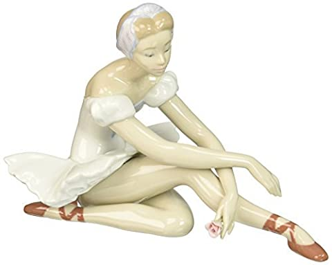 Lladro Rose Ballet Figurines by