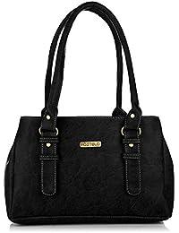 Fostelo Women's Handbag (Black,Fsb-414)