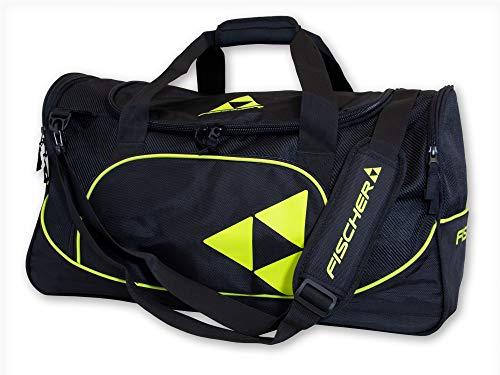 Fischer Sportbag 60L, schwarz/gelb