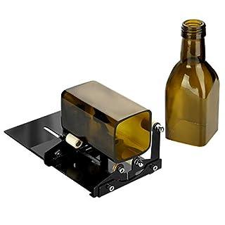 Flaschenschneider Set, Vierkant  Und Rundglas Flaschenschneider Mit  Zubehör Werkzeugsatz, Inkl.