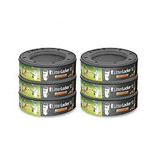 Nachfüllkassette für LitterLocker II Vorratspack 6 x Nachfüllkassette