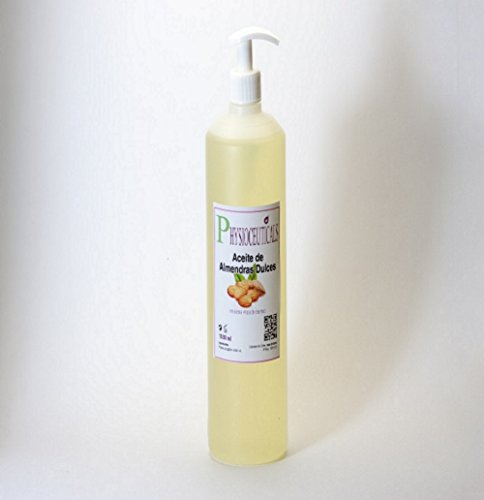 Aceite de Almendras Dulces 100% Puro. Primera Presión en Frio. 1 LITRO