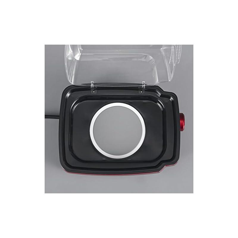 Severin Metallic Electronic Egg Boiler, Brushed Red
