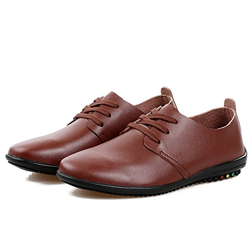 Men's High Quality Soft Leather Luxury Oxfords Shoes 789 red wine