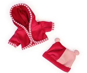 Bayer Design- Ropa para muñecas, Chaqueta y Gorro, Color Rosa (83060AA)