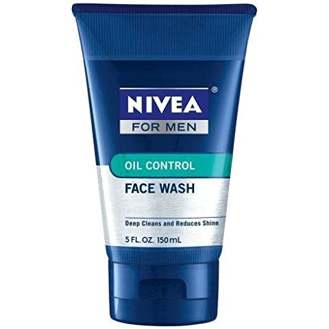 Nivea For Men, Oil Control Face Wash, 5 Fl. Oz.