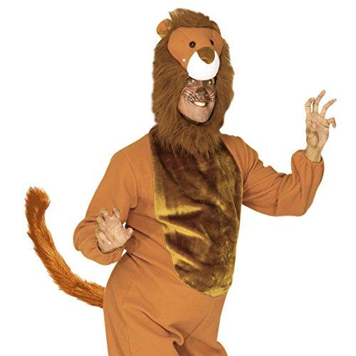 r Schwanz Plüsch Löwenschwanz Katzenschwanz Animal Tail Löwe Plüschschwanz Kostüm Accessoire ()