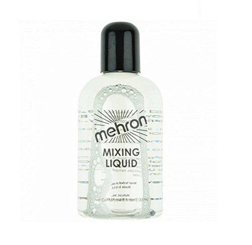 Mehron Liquide mélange théâtrale (133 ml) pour usage avec poudre métallique