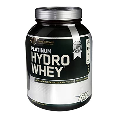 Optimum Nutrition Platinum Hydro Whey Protein Powder Drink Mix by Optimum Nutrition